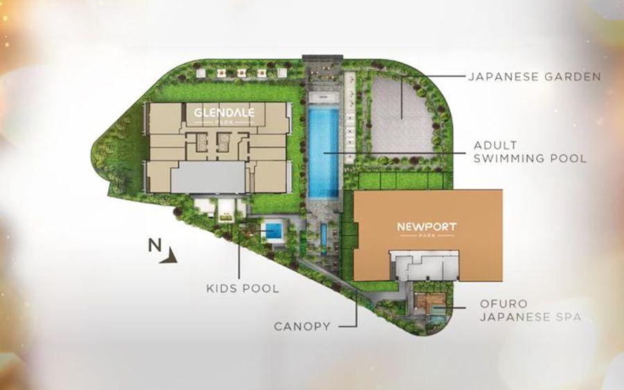 Orange County site plan