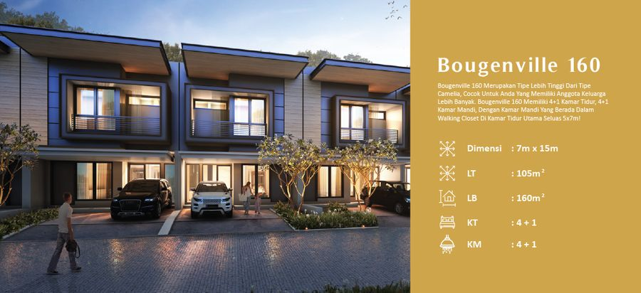 Kingspoint Private Residence Bougenville 160